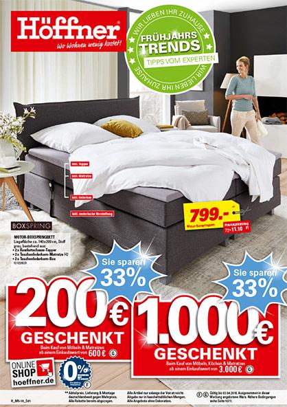 Emejing Möbel Höffner Küchen Prospekt Images - Farbideen ...