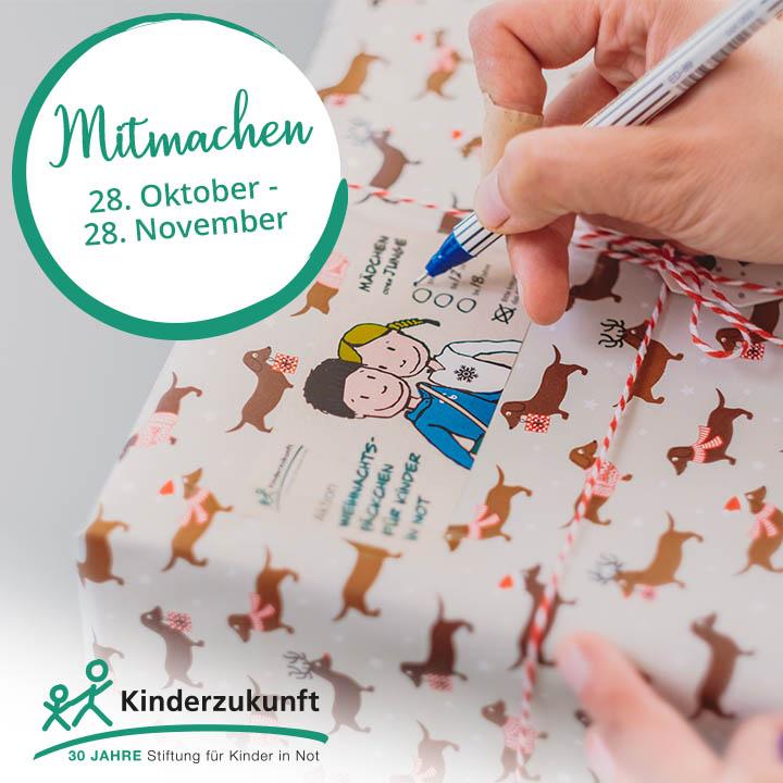 Weihnachtspäckchen für Kinder in Not | Möbel Höffner