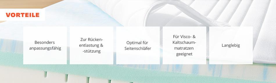 Vorteile von Teller-Lattenrosten