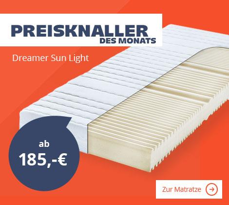 Dreamer eXpress Schaumkernmatratze Dreamer Sun Light