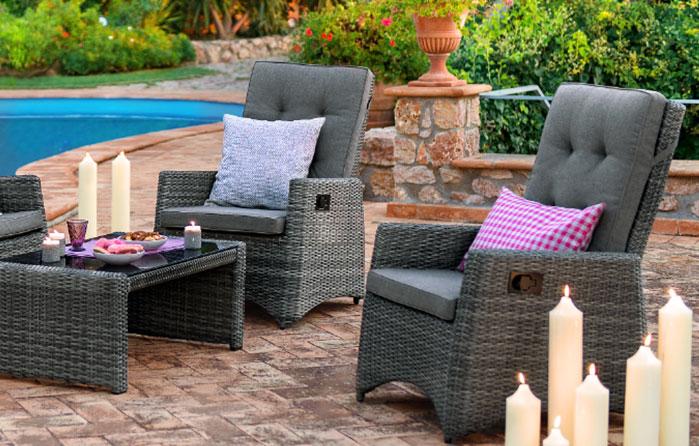 Hochwertige Outdoor Loungemöbel Günstig Bei Höffner