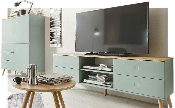 Wohnzimmer einrichten: Rat für große & kleine Räume   Höffner