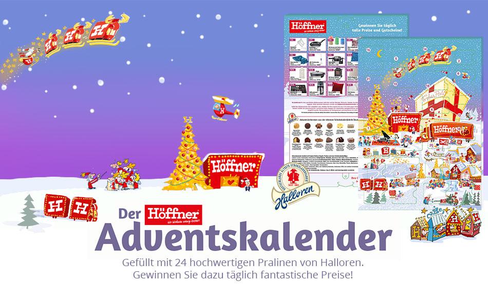 Höffi\'s Adventskalender | Möbel Höffner