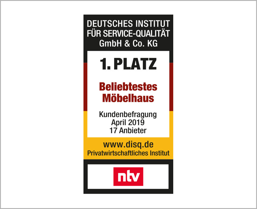 Die Auszeichnungen von Möbel Höffner - Qualität für Sie!
