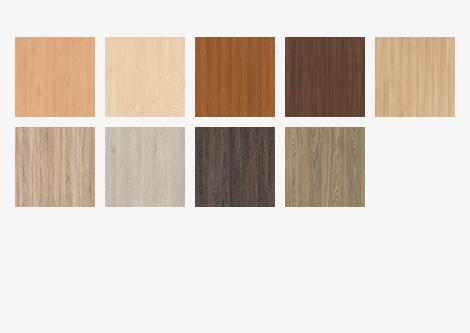 Möbelwerke Dekore holzfarben