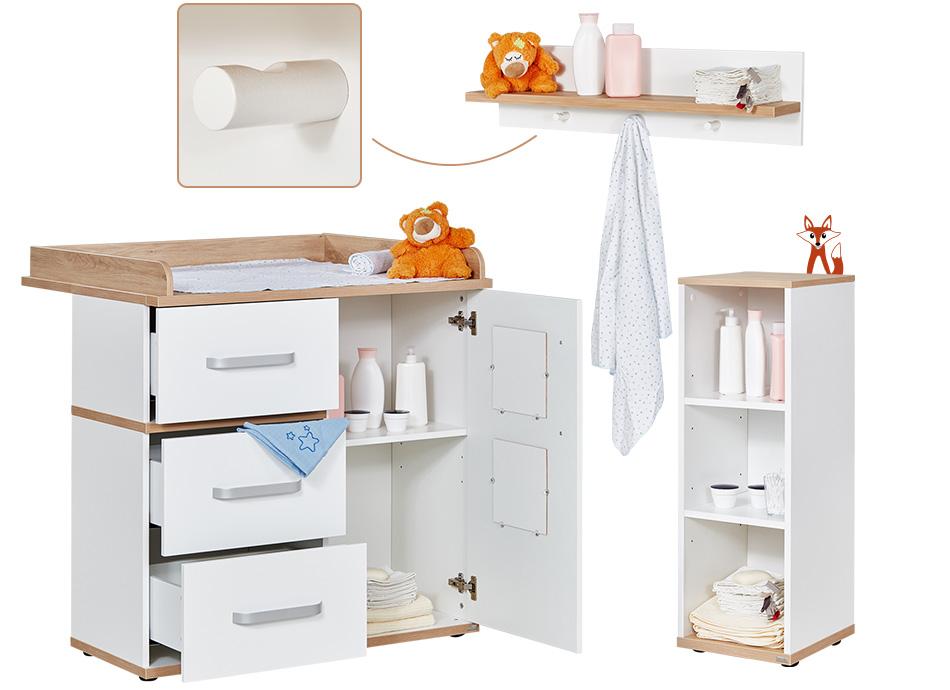 katharina babyzimmer mit scandi akzenten bei m bel h ffner. Black Bedroom Furniture Sets. Home Design Ideas