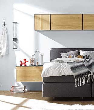 Wohnkombination hülsta now! to go für's Schlafzimmer