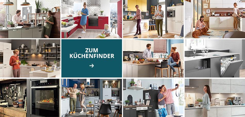 Finde deine perfekte Küche mit dem Küchenfinder!