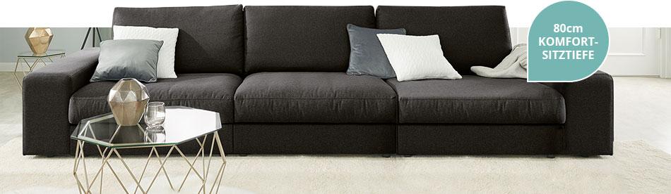 80cm Komfort-Sitztiefe