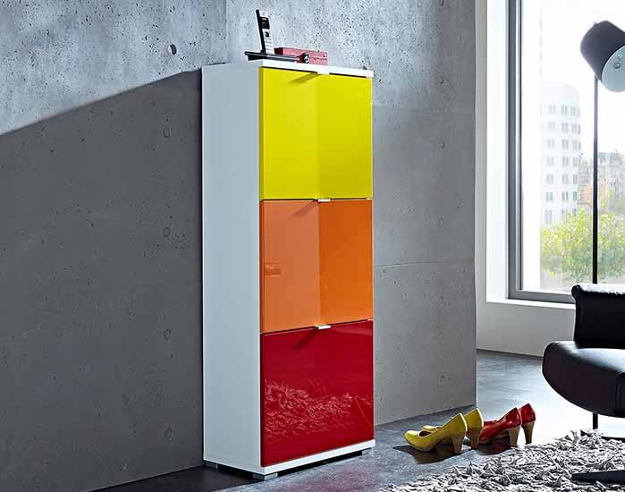 Rainbow - individuelle Garderobenmöbel   Möbel Höffner
