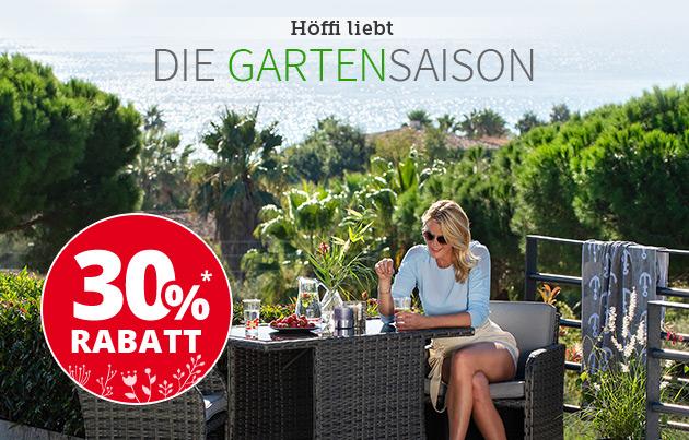 30% auf Gartenmöbel