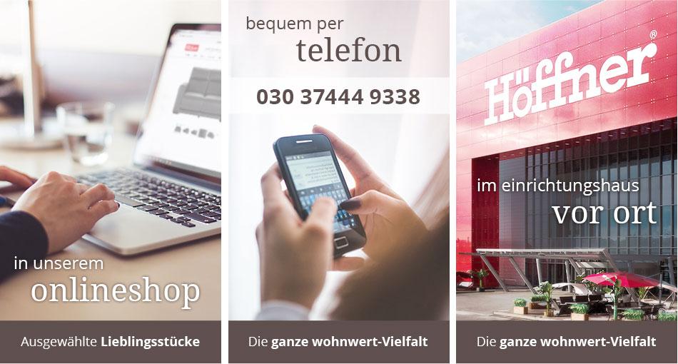 Online, telefonisch oder vor Ort bestellen!