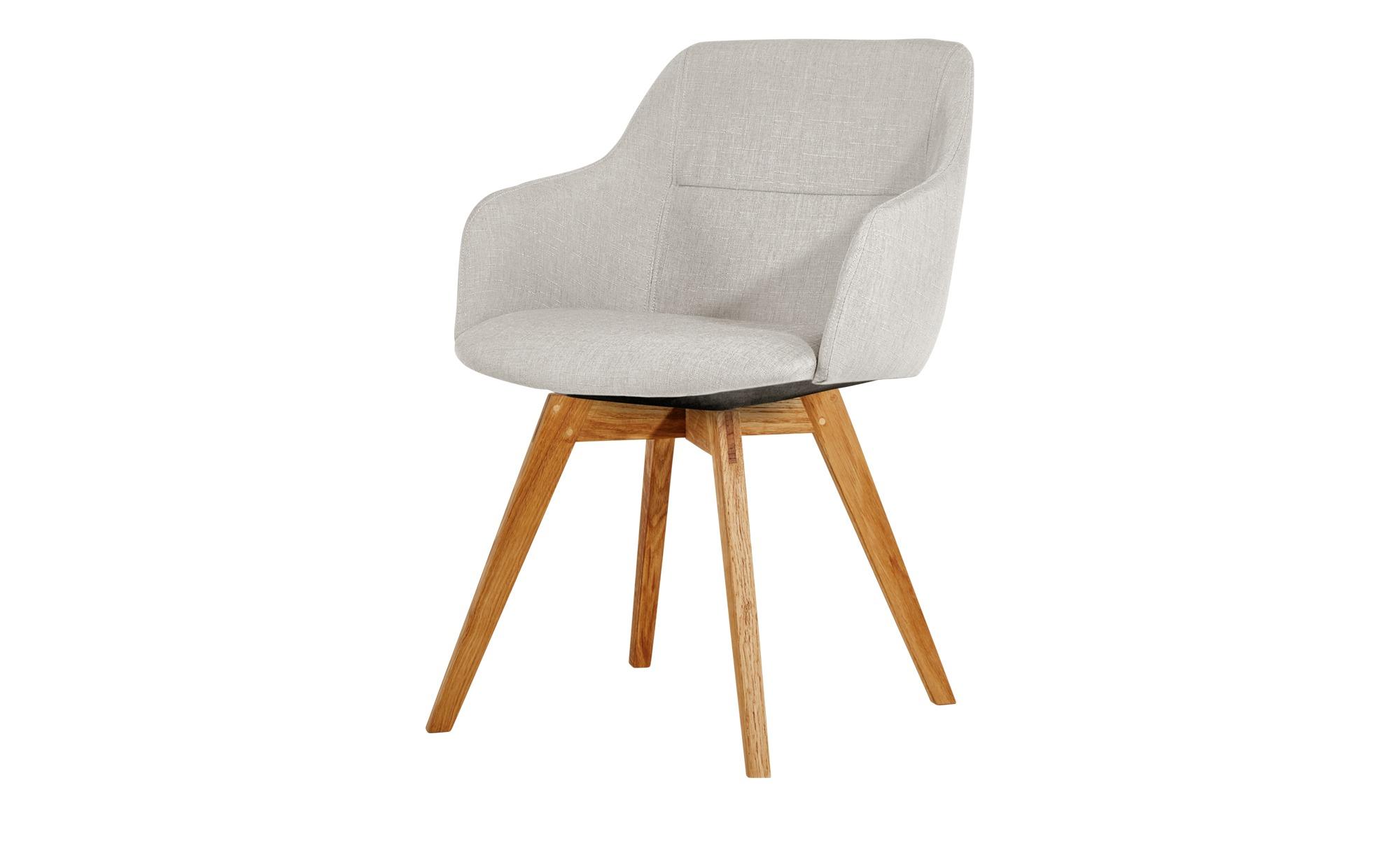 Moderne esszimmerst hle mit ohne armlehne bei h ffner - Lederstuhl beige ...