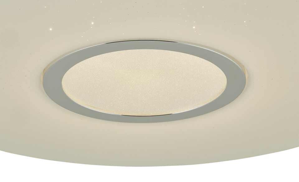 KHG LED-Deckenleuchte mit Sternenhimmeleffekt | vJdroI3N