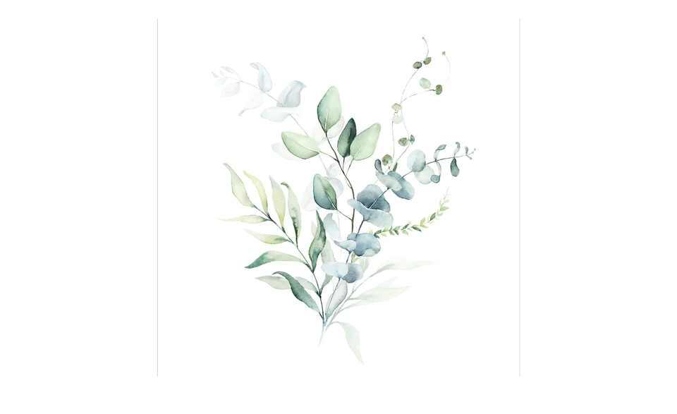 Watercoloures Leaves I