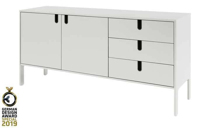 Sideboard Uno   Weiß   Möbel Höffner