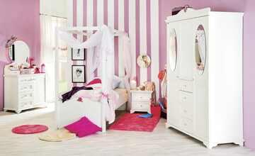 Jugendzimmer, 6-teilig  Fairytale