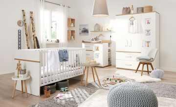 Babyzimmer, 4-teilig  Katharina