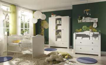 Babyzimmer, 4-teilig  Linda