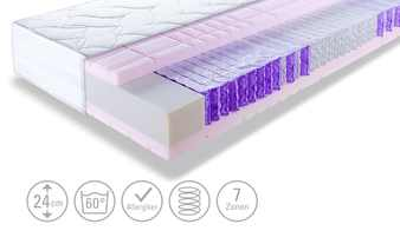 Dreamer eXpress Micro-Tonnentaschenfederkernmatratze  Dreamer Stars Rise