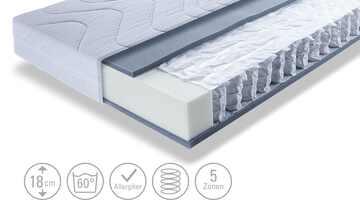 Dreamer eXpress Tonnentaschenfederkernmatratze  Dreamer Sun Line