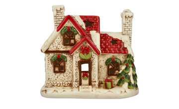 Teelichthalter  Weihnachtshaus
