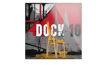 """Glasbild  """"Dock 10"""""""