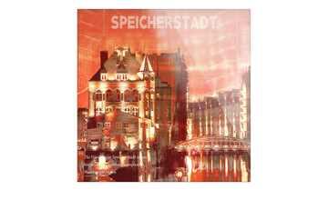 "Glasbild  ""Speicherstadt I"""