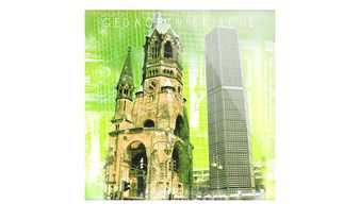 "Glasbild  ""Berlin"""