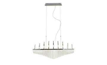 KHG LED- Pendelleuchte, mit Kristallbehang