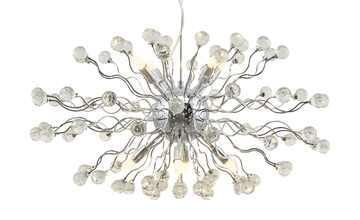 KHG LED-Kristallpendelleuchte, 8-flammig