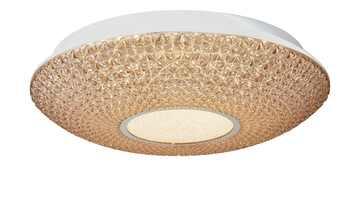 KHG LED-Deckenleuchte, Acryl in Kristalloptik