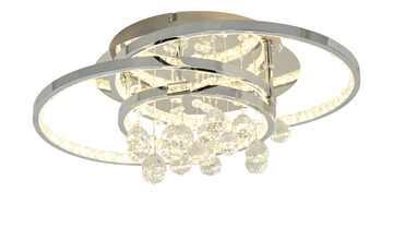 KHG LED-Kristalldeckenleuchte