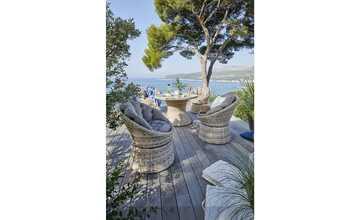 Geflecht-Drehsessel  Capri
