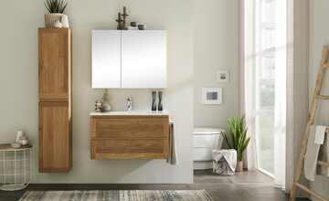 Wohnwert Waschtischunterschrank  Capri