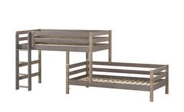 FLEXA Mittelhohes Kombibett 90x200 Holz Flexa Classic