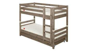 FLEXA Etagenbett mit 2 Schubladen 90x200 Holz Flexa Classic