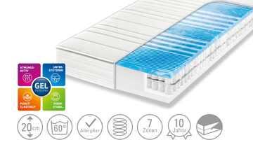 Dreamer eXpress 7-Zonen-Gelart-Tonnentaschenfederkernmatratze  Flexo 3