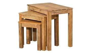 Beistelltisch 3er Set Holz  Trebosco