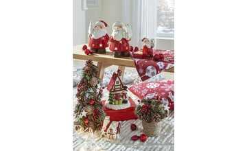 Teelichthalter Weihnachthaus