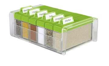 emsa Gewürzkartei grün  Spice Box