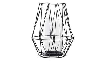 Windlicht mit Glaseinsatz