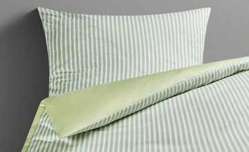 LAVIDA Satin-Wendebettwäsche   Spring Stripes