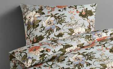 Belcampo Satinbettwäsche  Floral