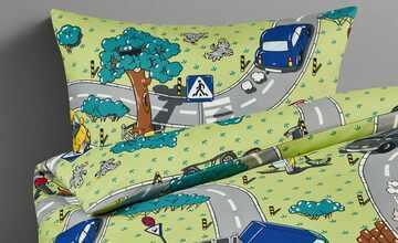 for friends Renforcé Bettwäsche  Straßenverkehr