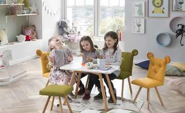 Kinder-Sitzbank mit Ohren  Huschel