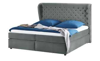 smart Boxspringbett 180x200 - taubengrau Queen