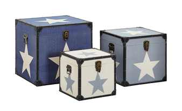 3er-Set Aufbewahrungsboxen  Starlight