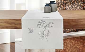 Tischläufer  Schmetterling