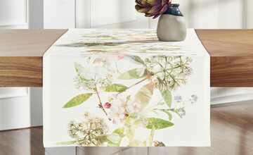 Apelt Tischläufer  Blumenäste